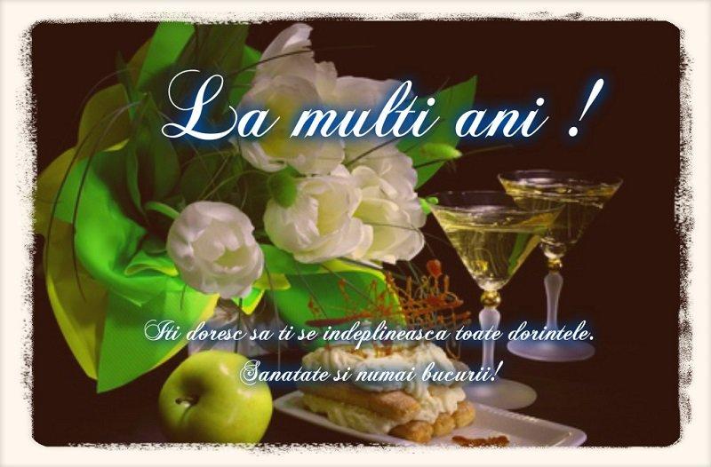 Felicitari de zi de nastere - Iti doresc sa ti se indeplineasca toate dorintele. Sanatate si numai bucurii! - mesajeurarifelicitari.com