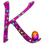 Cartoline con nome K