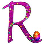 Cartoline con nome R