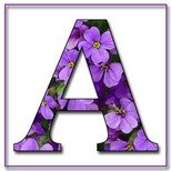 Greeting Cards With Name Letter A