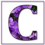 Greeting Cards With Name Letter C