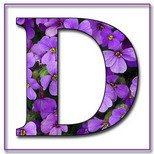 Greeting Cards With Name Letter D
