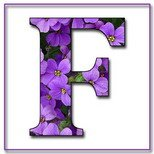 Greeting Cards With Name Letter F