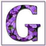 Greeting Cards With Name Letter G