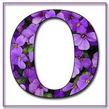 Greeting Cards With Name Letter O