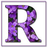 Greeting Cards With Name Letter R