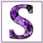 Greeting Cards With Name Letter S