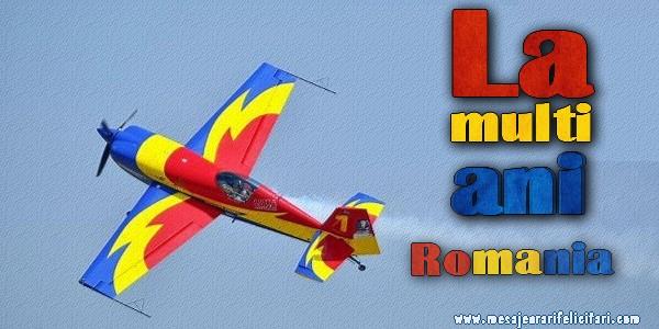 Cele mai apreciate felicitari de 1 Decembrie - La multi ani Romania