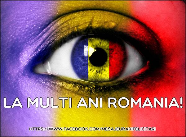 Cele mai apreciate felicitari de 1 Decembrie - La multi ani Romania!