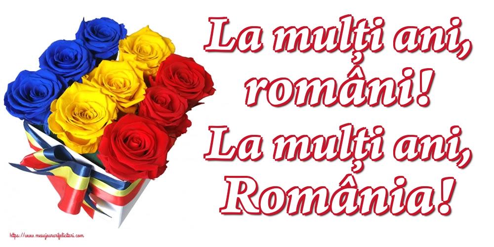 Felicitari de 1 Decembrie - La mulți ani, români! La mulți ani, România!
