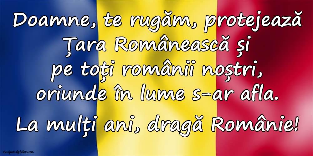 Felicitari de 1 Decembrie - La multi ani, dragă Românie!
