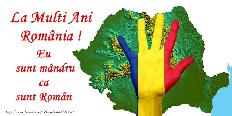Cele mai apreciate felicitari de 1 Decembrie - La Multi Ani Romania! Eu sunt mandru ca sunt Roman
