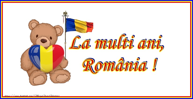 Felicitari de 1 Decembrie - La multi ani, Romania! - mesajeurarifelicitari.com
