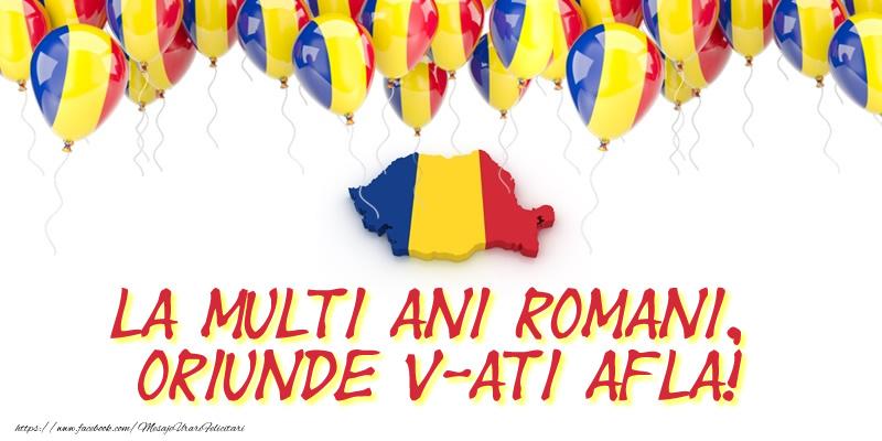 1 Decembrie La multi ani romani, oriunde v-ati afla!