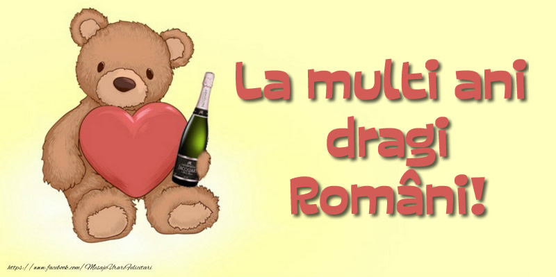 Felicitari de 1 Decembrie - La multi ani dragi Români!