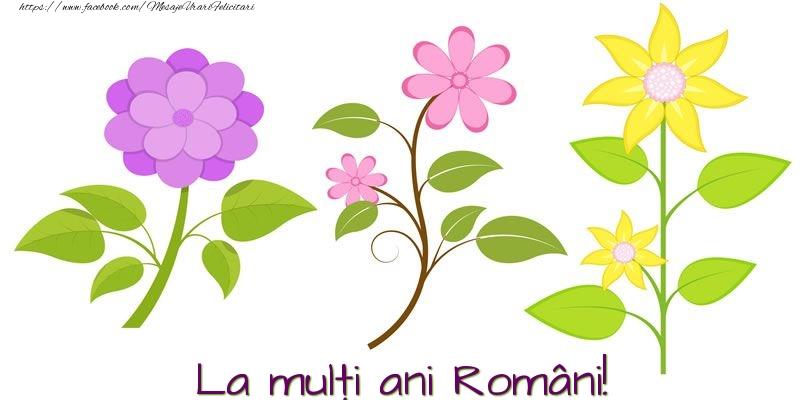 Felicitari de 1 Decembrie - La mulţi ani Români!