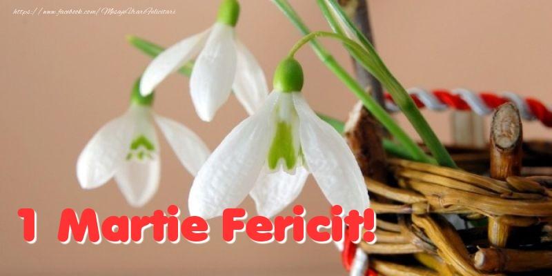 Felicitari de 1 Martie - 1 Martie Fericit!