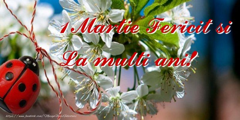 Felicitari de 1 Martie - 1 Martie Fericit si
