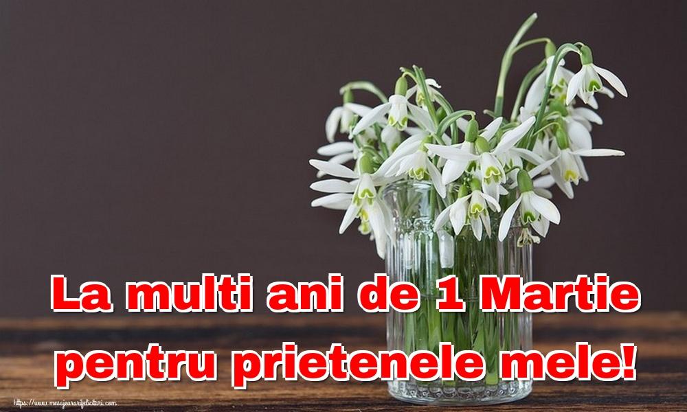 La multi ani de 1 Martie pentru prietenele mele!
