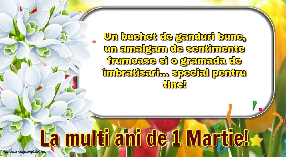 Felicitari de 1 Martie - La multi ani de 1 Martie!