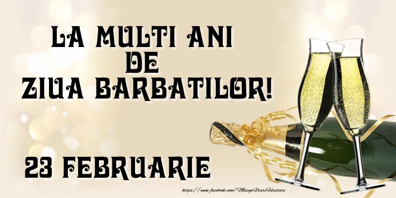 La multi ani de ziua barbatilor! 23 Februarie