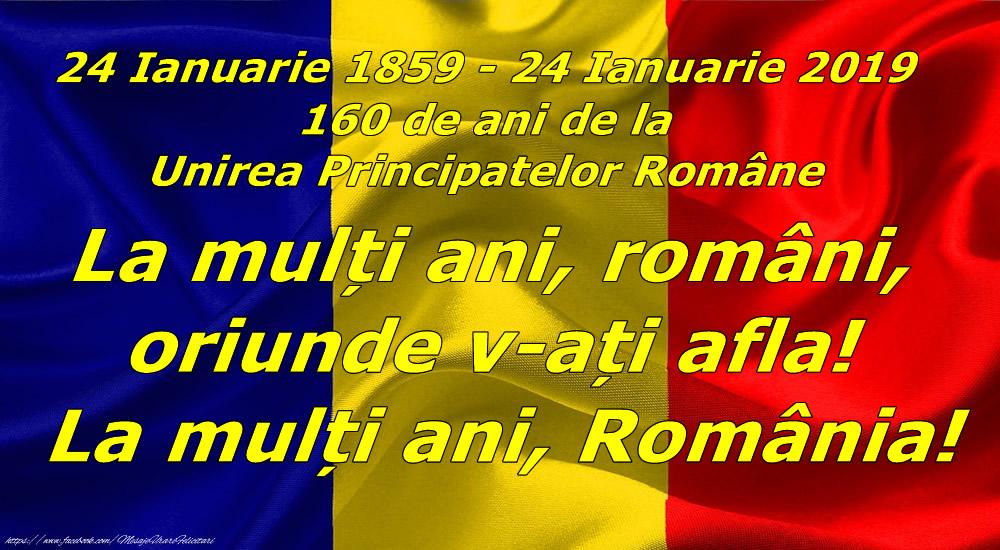 La mulți ani, români, oriunde v-ați afla! La mulți ani, România!
