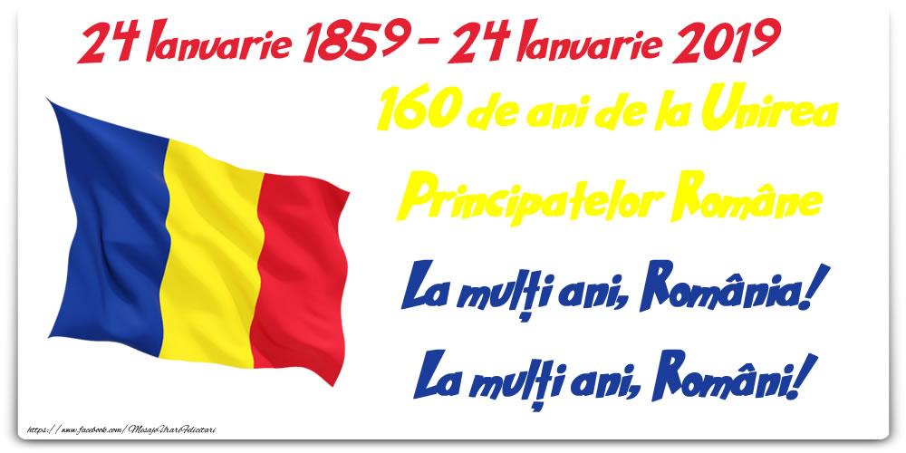 24 ianuarie 2019 160 de ani de la Unirea Principatelor Române