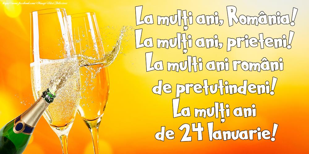 La multi ani Romania de 24 Ianuarie!