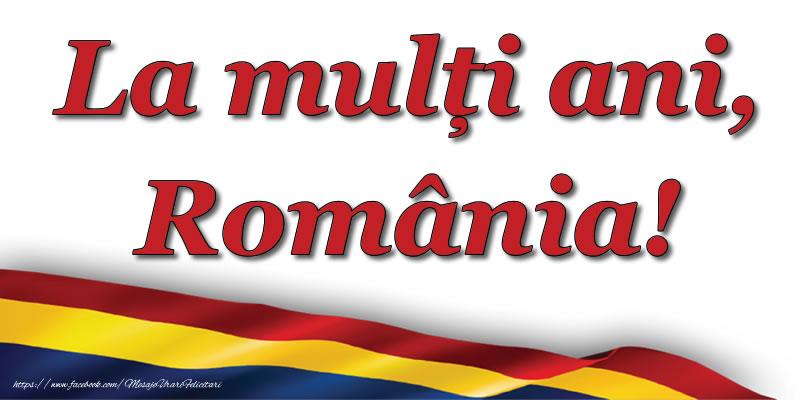 Felicitari de 24 Ianuarie - La mulți ani, România!