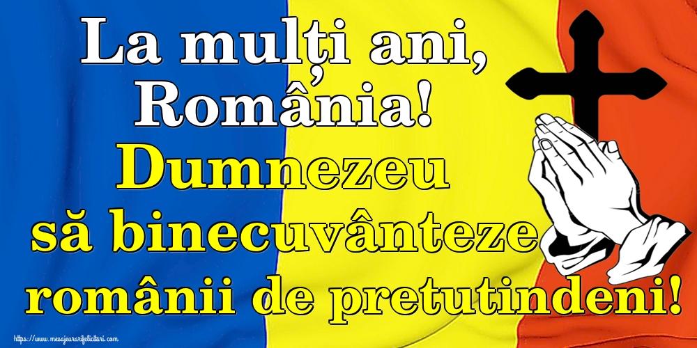 Felicitari de 24 Ianuarie - La mulți ani, România! Dumnezeu să binecuvânteze românii de pretutindeni!