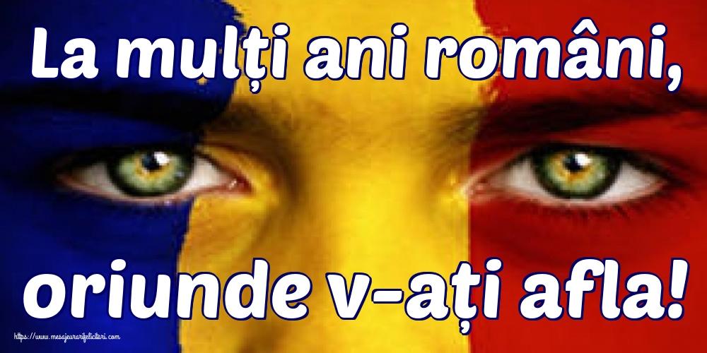 Felicitari de 24 Ianuarie - La mulți ani români, oriunde v-ați afla!