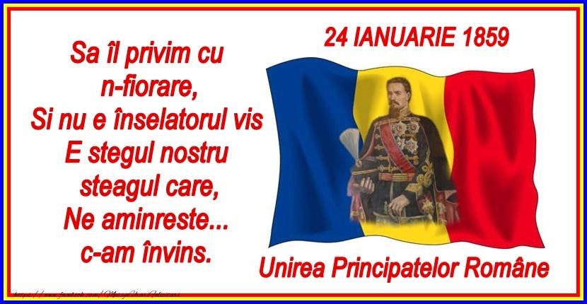 Cele mai apreciate felicitari de 24 Ianuarie - Traiasca Unirea! 24 ianuarie 1859