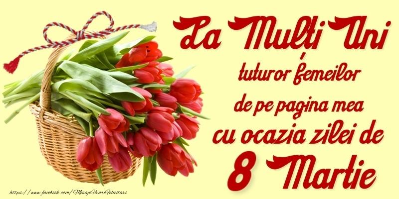 Cele mai apreciate felicitari de 8 Martie - 8 Martie Fericit!