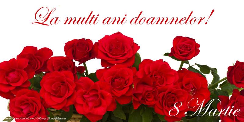 Felicitari de 8 Martie - La multi ani doamnelor! 8 Martie - mesajeurarifelicitari.com