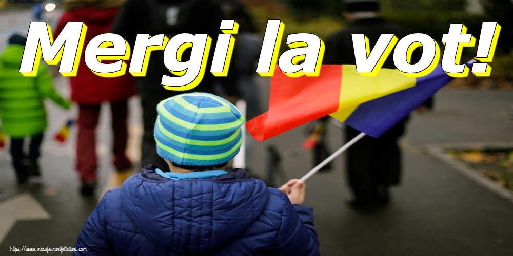 Imagini Alegeri - Mergi la vot!