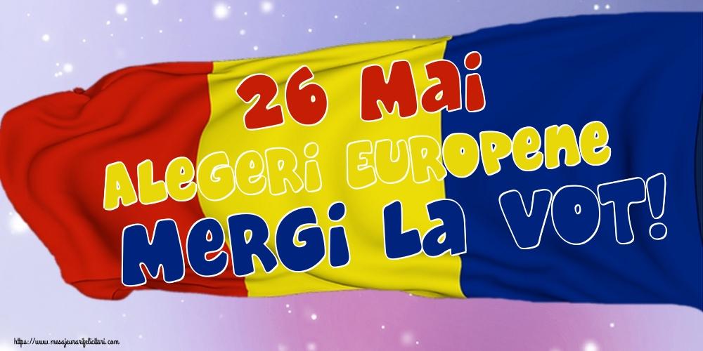 Imagini Alegeri - 26 Mai Alegeri Europene Mergi la vot!