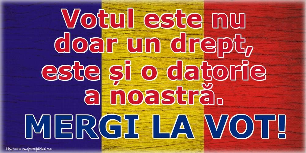 Imagini Alegeri - Votul este nu doar un drept, este și o datorie a noastră. MERGI LA VOT!