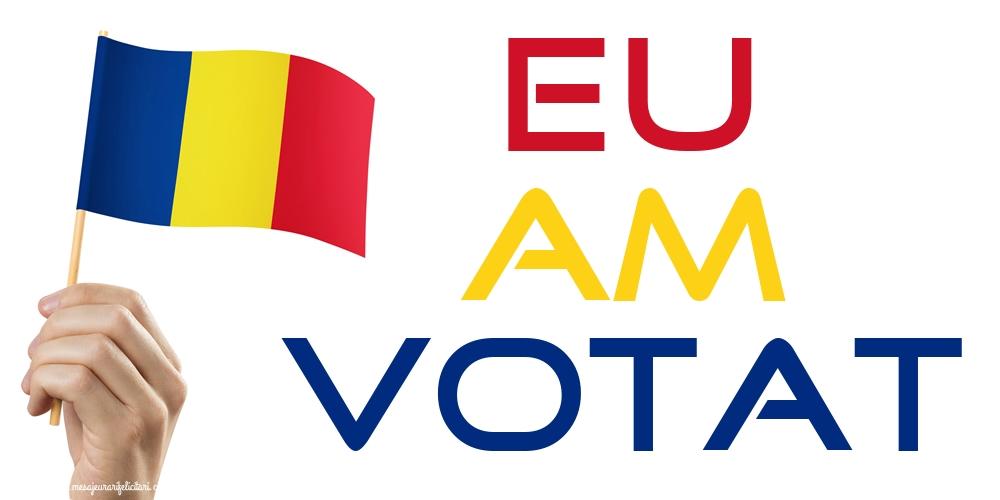 Imagini Alegeri - EU AM VOTAT