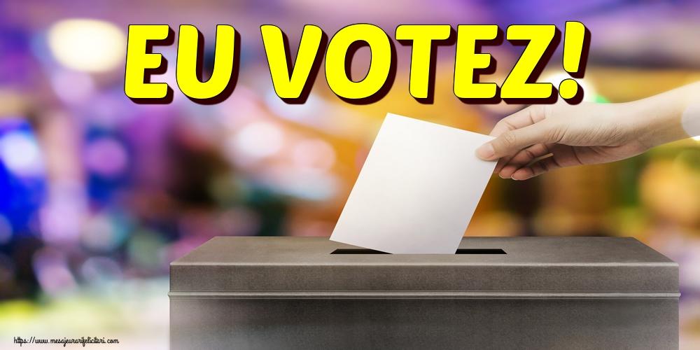 Imagini Alegeri - EU VOTEZ!