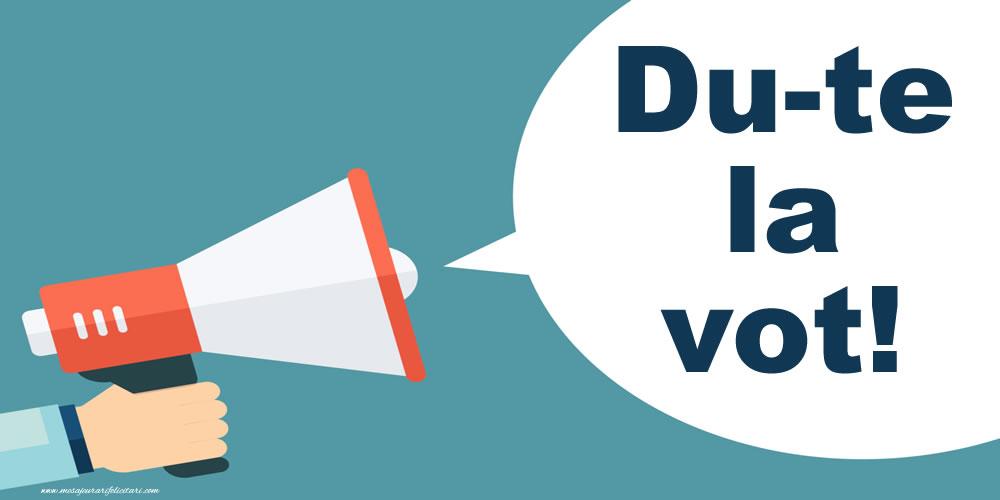 Imagini Alegeri - Du-te la vot!