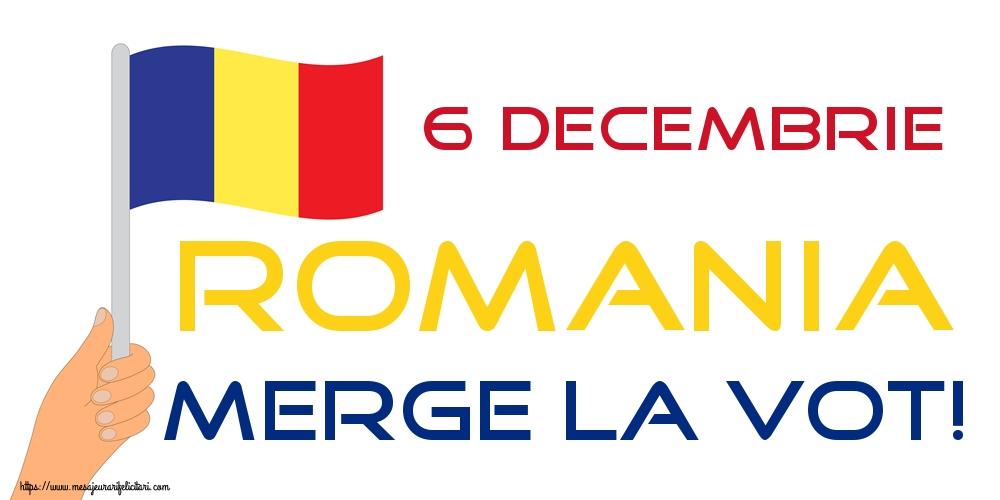 Imagini Alegeri - 6 Decembrie ROMANIA MERGE LA VOT!