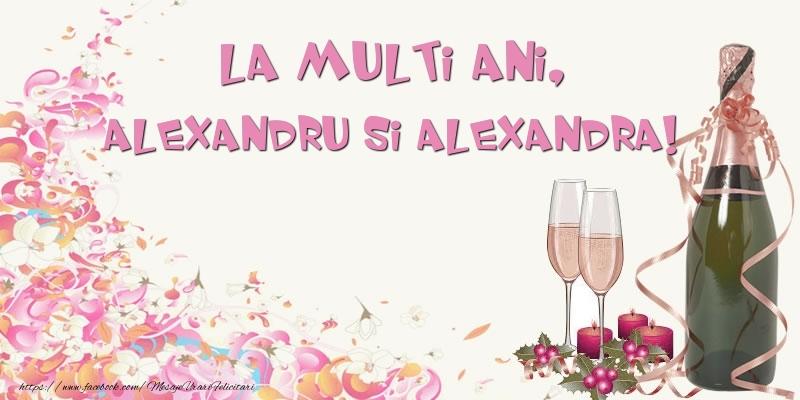 Felicitari de Sfantul Alexandru - La multi ani, Alexandru si Alexandra! - mesajeurarifelicitari.com