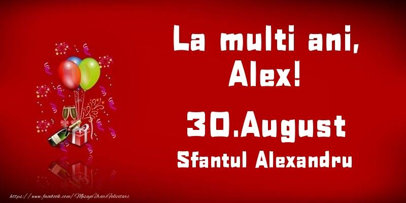 Sfantul Alexandru La multi ani, Alex! Sfantul Alexandru - 30.August