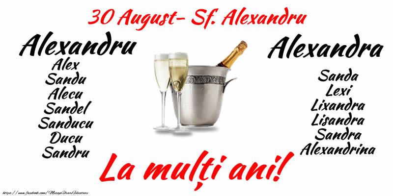 Sfantul Alexandru 30 August - La multi ani pentru toti cei ce poarta numele Sf. Alexandru!