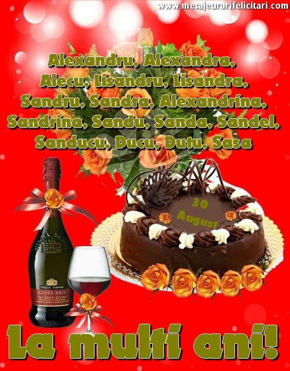 Felicitari de Sfantul Alexandru - La multi ani, Alexandru, Alexandr...