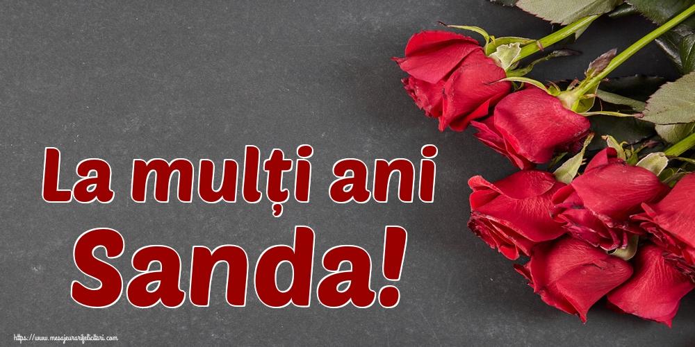Felicitari de Sfantul Alexandru - La mulți ani Sanda!