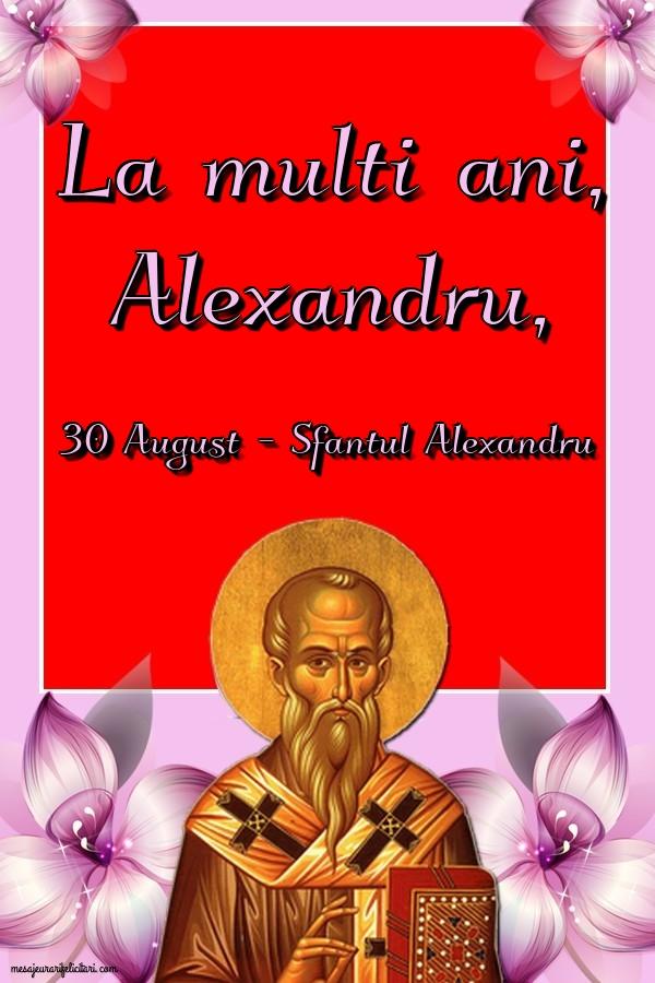 La multi ani, Alexandru