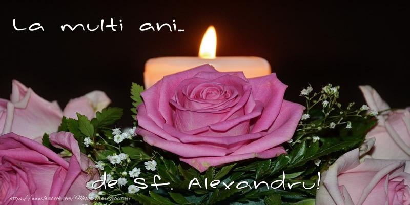 Felicitari de Sfantul Alexandru - La multi ani... de Sf. Alexandru! - mesajeurarifelicitari.com