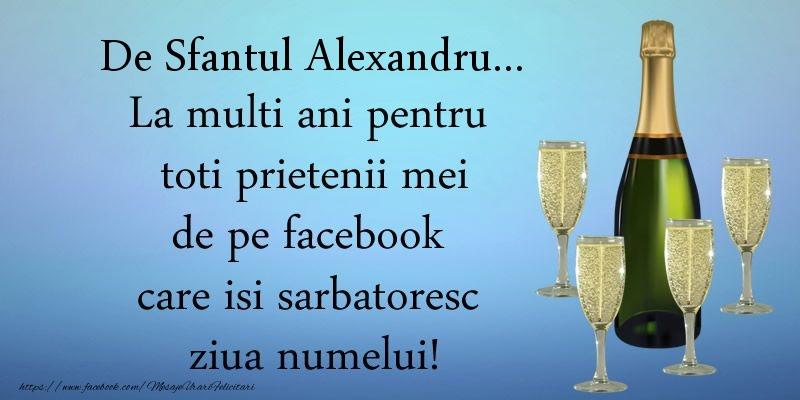 De Sfantul Alexandru ... La multi ani pentru toti prietenii mei de pe facebook care isi sarbatoresc ziua numelui!