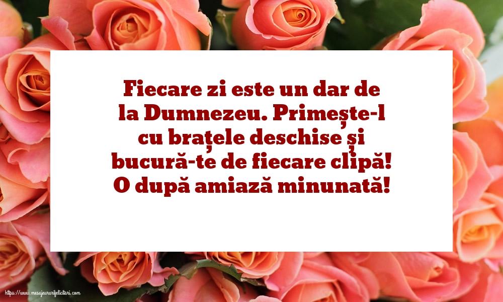 Felicitari de Amiaza - O după amiază minunată! - mesajeurarifelicitari.com